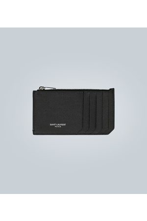 Saint Laurent Leather ID card case