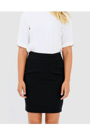Forcast Sandy Pencil Skirt - Pencil skirts Sandy Pencil Skirt