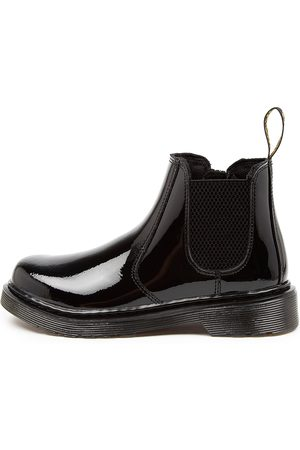 Dr. Martens Girls Ankle Boots - 2976 Chelsea Bt Patent Jnr Dm Boots Girls Shoes Casual Ankle Boots