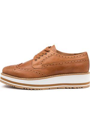 Top end Sansi Tan Shoes Womens Shoes Casual Flat Shoes