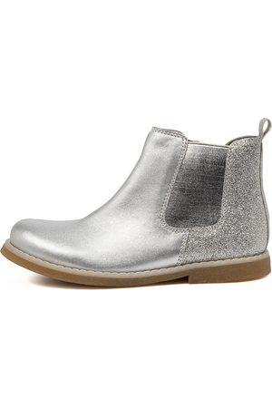 Clarks Girls Ankle Boots - Chelsea Jnr Ck Glitter Boots Girls Shoes Casual Ankle Boots