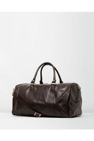 Republic of Florence Men Travel Bags - The Nardi Weekender - Duffle Bags (Chocolate) The Nardi Weekender