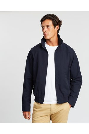 Staple Superior Men Jackets - Mason Harrington Jacket - Coats & Jackets (Navy) Mason Harrington Jacket