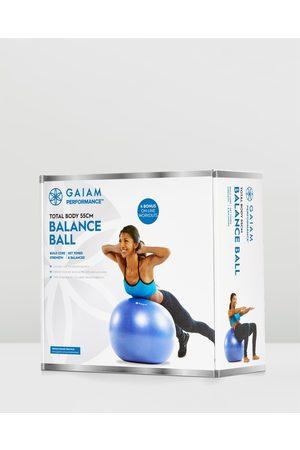 Gaiam Sports Equipment - Performance Balanceball Kit 55cm - Training Equipment Performance Balanceball Kit 55cm