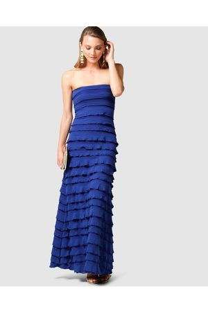 SACHA DRAKE Maddison Maxi Dress - Dresses (Sapphire) Maddison Maxi Dress