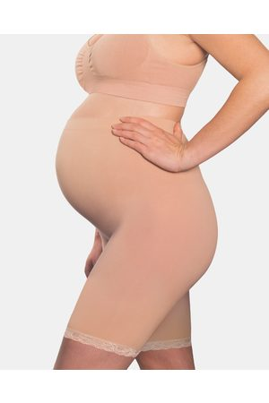 B Free Maternity Anti Chafing Cotton Shorts - Lingerie (Nude) Maternity Anti-Chafing Cotton Shorts