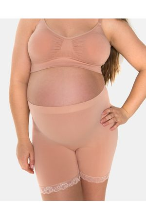 B Free Maternity Anti Chafing Petite Cotton Shorts - Briefs (Nude) Maternity Anti-Chafing Petite Cotton Shorts