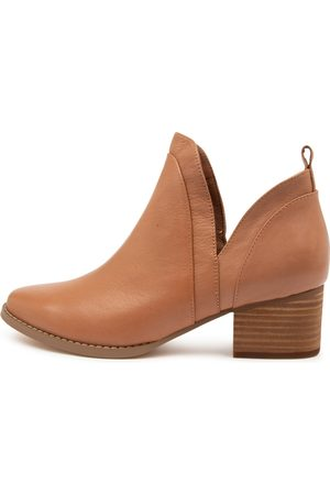 I LOVE BILLY Women Ankle Boots - Larni Tan Boots Womens Shoes Casual Ankle Boots