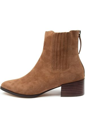Mollini Women Ankle Boots - Deka Mo Lt Choc Boots Womens Shoes Casual Ankle Boots