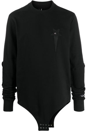 RICK OWENS CHAMPION X Champion logo-embroidered sweatshirt