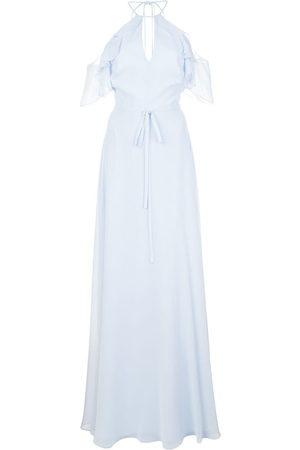 Marchesa Notte Women Party Dresses - Cold shoulder bridesmaid gown