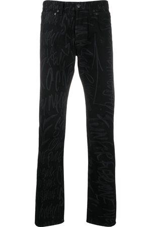 Takahiromiyashita The Soloist X Disney scribble printed trousers