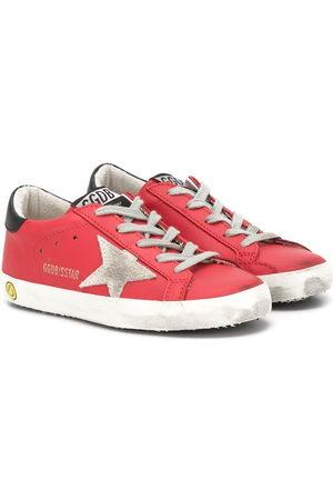 Golden Goose Girls Sneakers - Superstar distressed sneakers