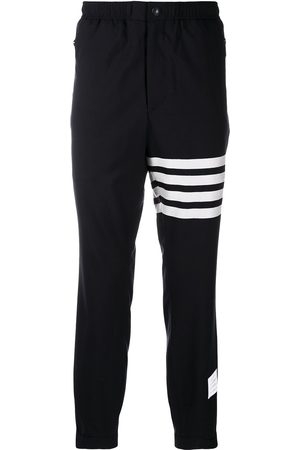 Thom Browne Plain weave suiting track pants