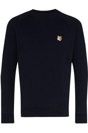 Maison Kitsuné Appliqued cotton sweatshirt
