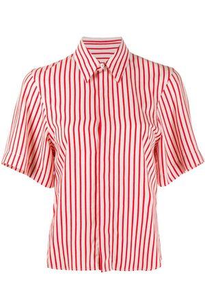 Ami Invisible Button Placket Short Sleeves Shirt