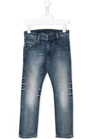 Diesel Tapered distressed jeans