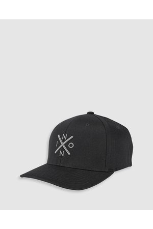 Nixon Exchange FlexFit - Headwear ( & Charcoal) Exchange FlexFit