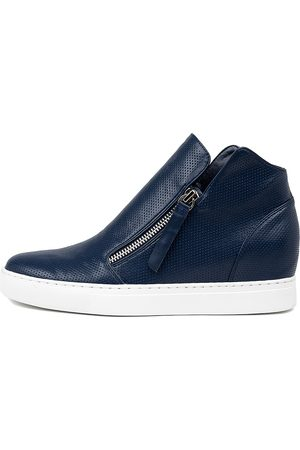 I LOVE BILLY Georgine Navy Boots Womens Shoes Ankle Boots