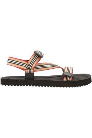 Burberry Patterson nylon sandals