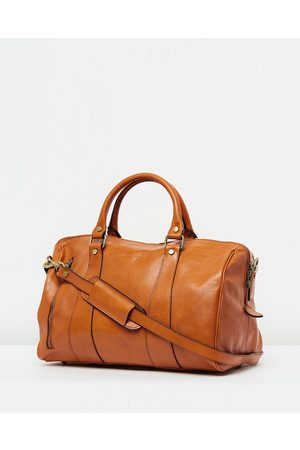 Republic of Florence The Small Nardi Duffle Bag - Duffle Bags (Tan) The Small Nardi Duffle Bag