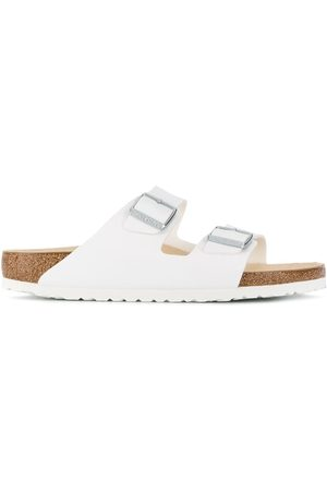Birkenstock Buckle-embellished slides