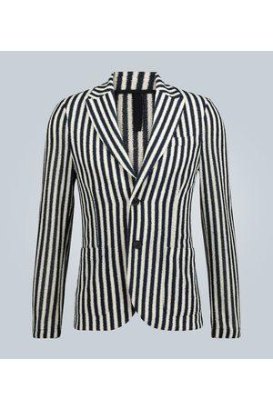 Harris Wharf London Men Blazers - Striped Frisé blazer