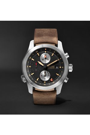 Bremont Men Watches - Alt1-zt/51 Chronograph 43mm Stainless Steel And Leather Watch