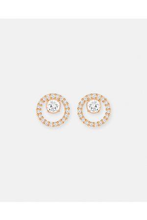 Swarovski Creativity Circle Pierced Small Earrings - Jewellery ( & Rose Plating) Creativity Circle Pierced Small Earrings