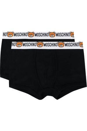 Moschino Men Boxer Shorts - Pack of 2 teddy logo boxers