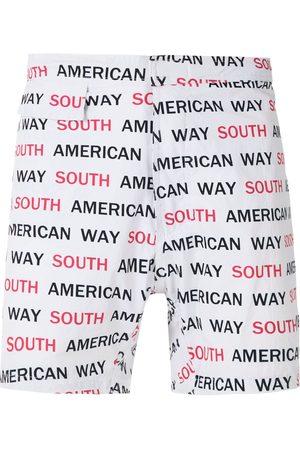 AMIR SLAMA South American Way tactel swim shorts