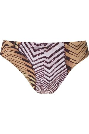 AMIR SLAMA Men Board Shorts - Caminhos print trunks