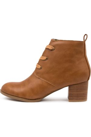 I LOVE BILLY Jovie Il Tan Boots Womens Shoes Casual Ankle Boots