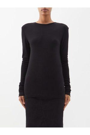 Raey Long-sleeve Wool-jersey T-shirt - Womens