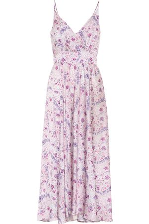 Paco rabanne Exclusive to Mytheresa – Floral satin dress