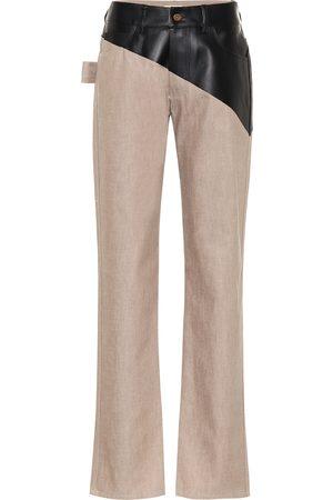 Bottega Veneta High-rise straight jeans