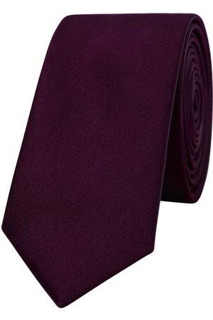 Yd. Matte Satin 6.5 Cm Tie Burgundy One