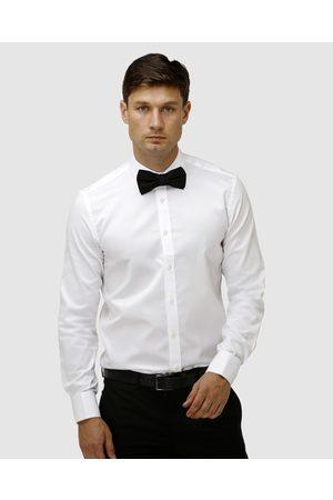 BROOKSFIELD Classic Wedding French Cuff Dress Shirt - Shirts & Polos Classic Wedding French Cuff Dress Shirt