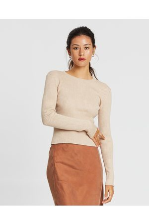 Nude Lucy Nude Classic Knit - Tops (Oatmeal) Nude Classic Knit