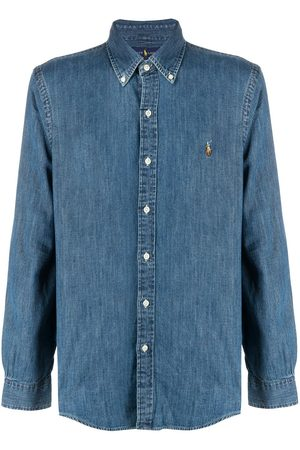 Polo Ralph Lauren Button-down logo denim shirt