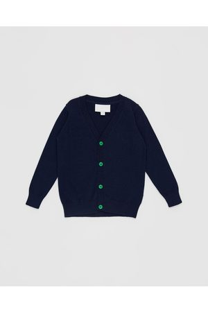 Pappe Bothwell Cardigan Babies Kids - Jumpers & Cardigans (Navy) Bothwell Cardigan - Babies-Kids