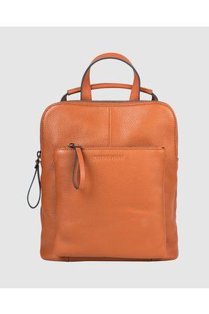 The Horse Women Backpacks - The Mini Backpack - Bags (Tan) The Mini Backpack