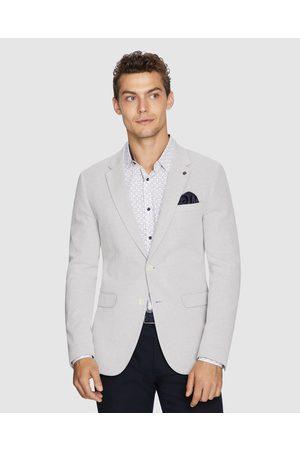 yd. Chase Stretch Blazer - Suits & Blazers (PUMICE) Chase Stretch Blazer