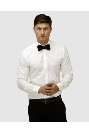 BROOKSFIELD Hero Wedding Regular Cuff Dress Shirt - Shirts & Polos (Cream) Hero Wedding Regular Cuff Dress Shirt