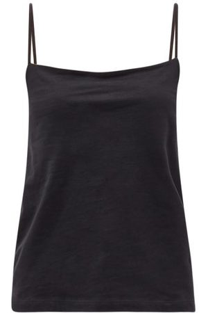 Raey Square-neck Cotton-blend Jersey Vest - Womens