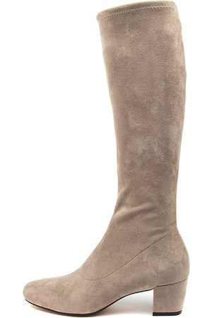 I LOVE BILLY Hoyty Taupe Boots Womens Shoes Casual Long Boots