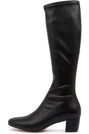 Django & Juliette Women Knee High Boots - Hayleys Shrunken Boots Womens Shoes Casual Long Boots