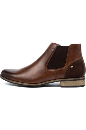 Davinci Men Casual Shoes - Bruce Da Tan Boots Mens Shoes Casual Ankle Boots