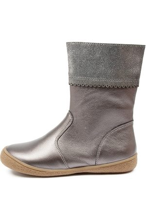 RED BOOTIE Julia Rb Bronze Boots Girls Shoes Casual Calf Boots