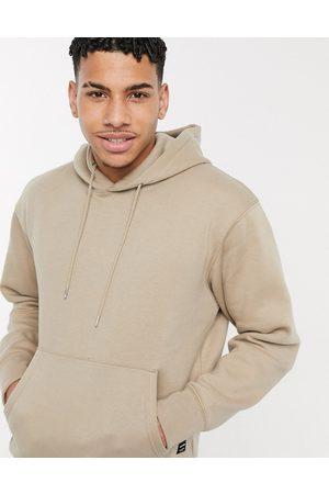 Jack & Jones Essentials oversized hoodie in beige